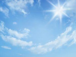 明るい太陽